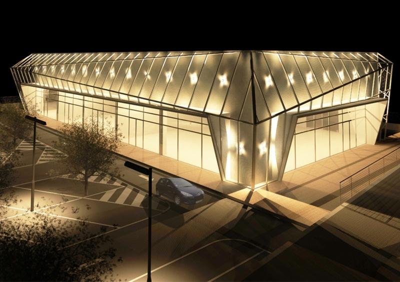 Fotomontaggio 2 -edificio commerciale fermo
