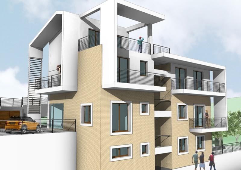 Vista tridimensionale 1-casa venagrande