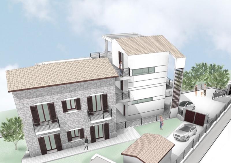 Vista tridimensionale 2-casa venagrande